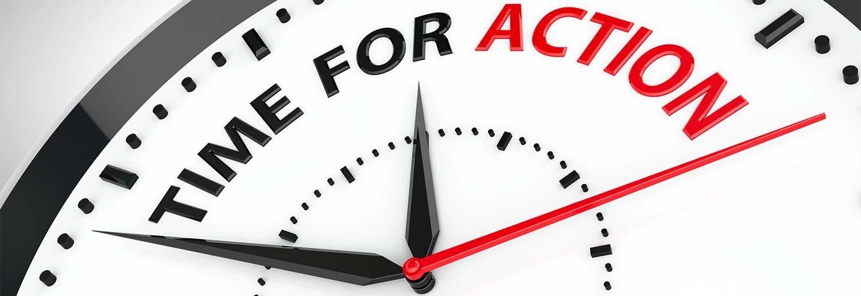 clock take action personalized pivot