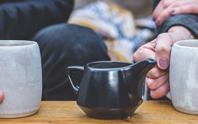 not ready to date couple coffee
