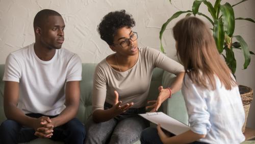 Unhappy Couple Couples Relationship Coaching